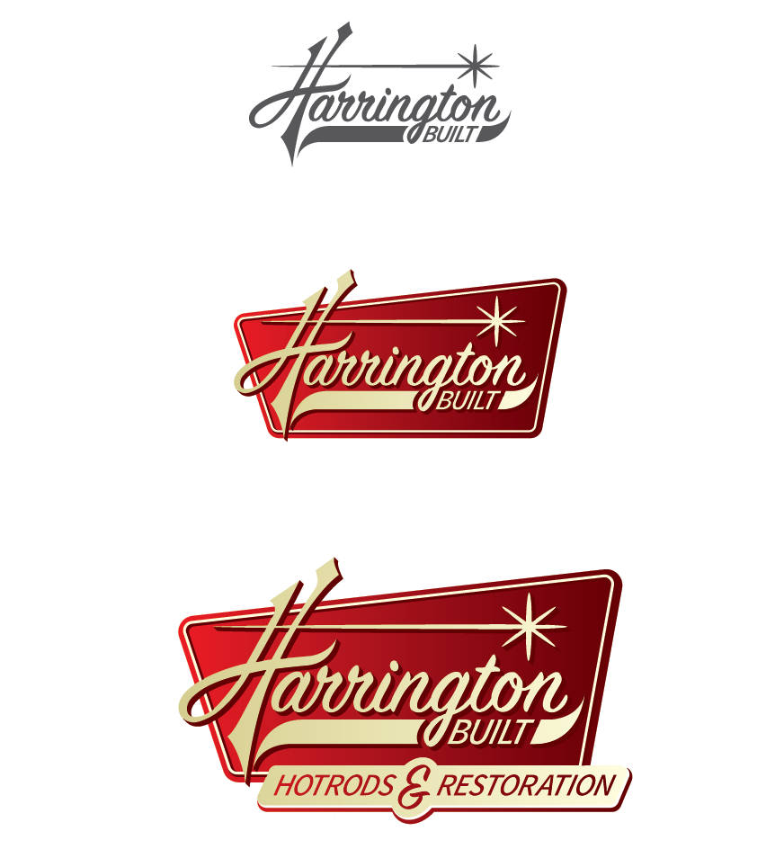 logo design, logo development, hotrod logo