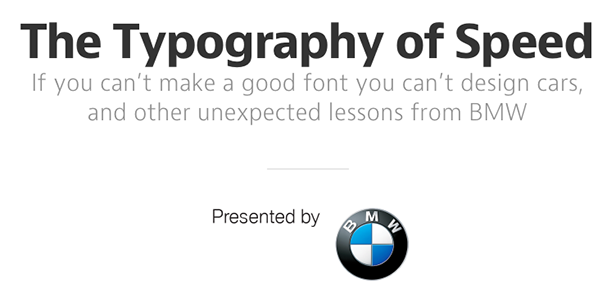typography_of_speed_bmw